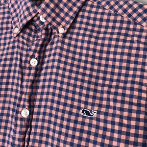 Vineyard Vines Slim Fit Whale Shirt Button Down
